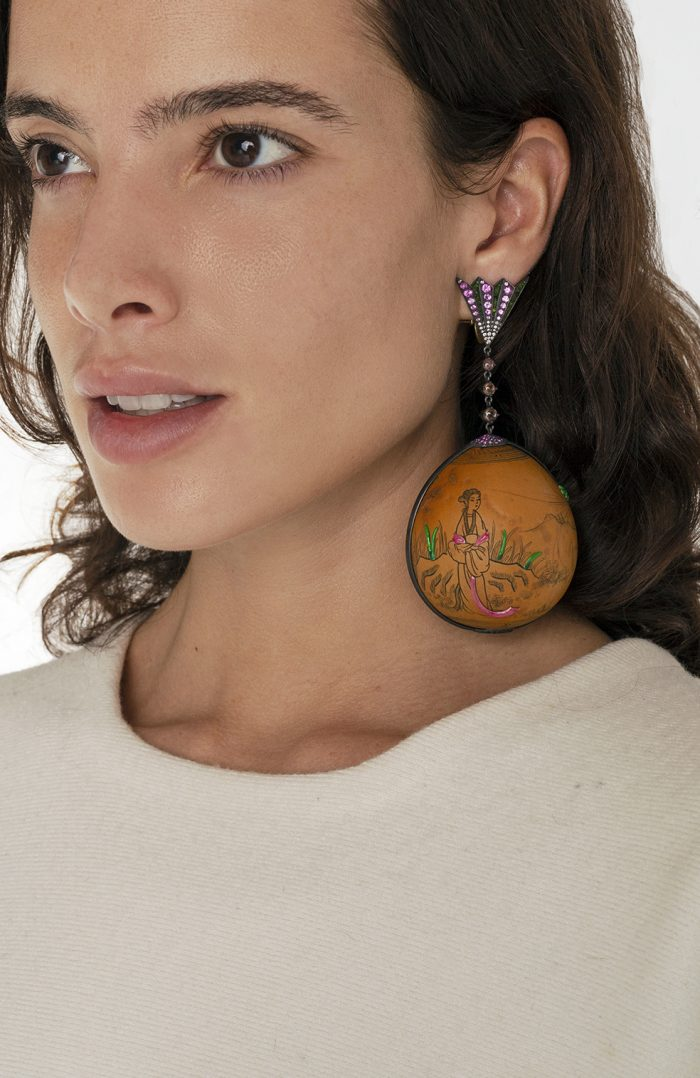 Japanesse Earrings - Luz camino