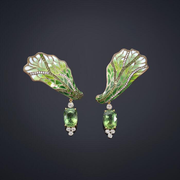 Iris Petal Earrings - Luz Camino