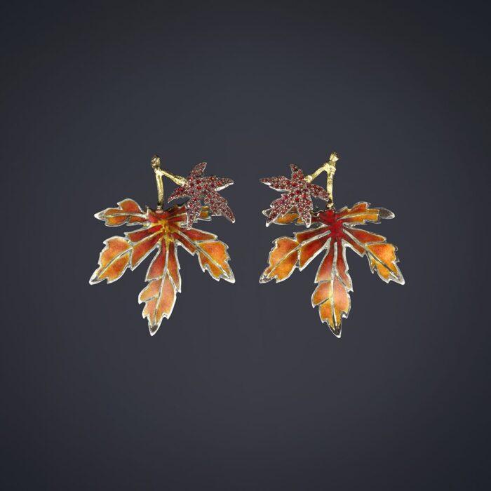 Maple EArrings - Luz Camino
