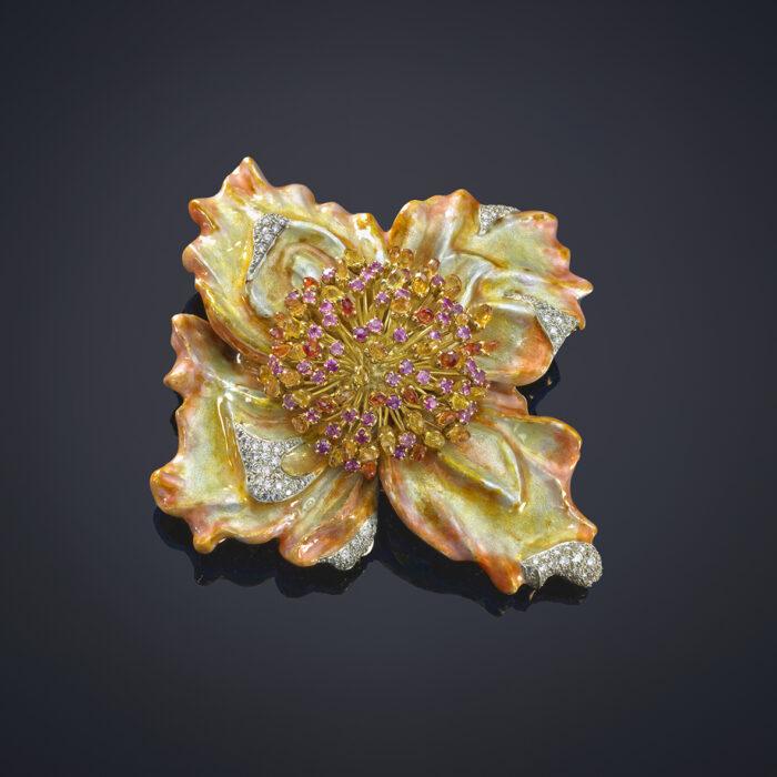 Flower Brooch - Luz Camino